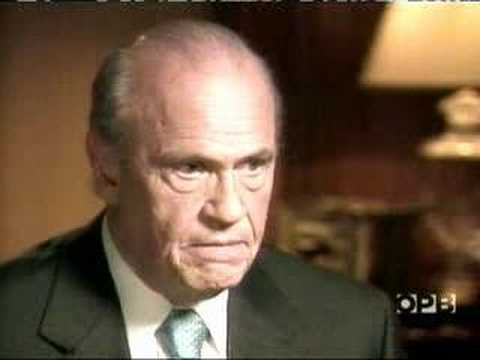 Fred Thompson - What is a Conservative