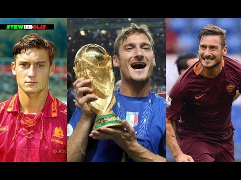 Francesco Totti ● Top 5 Goals Ever! ● 1992-2017 ● 1080i HD #