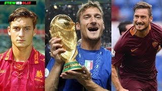 Francesco Totti ● Top 5 Goals Ever! ● 1992-2017 ● 1080i HD #Totti #Legend
