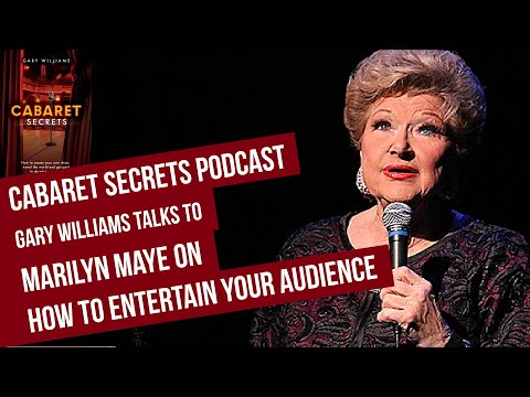 Marilyn Maye on ow to sing jazz, entertain your audience and have a great time doing it.