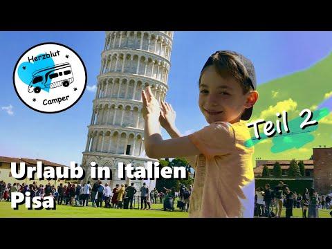 Mit dem Wohnmobil in Italien - Zwei Nächte in Pisa