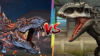 🦖 Idominus Rex Đối Đầu Với Alpha 06 🦕 | Jurassic World Khủng Long Game Mobile, Android, Ios