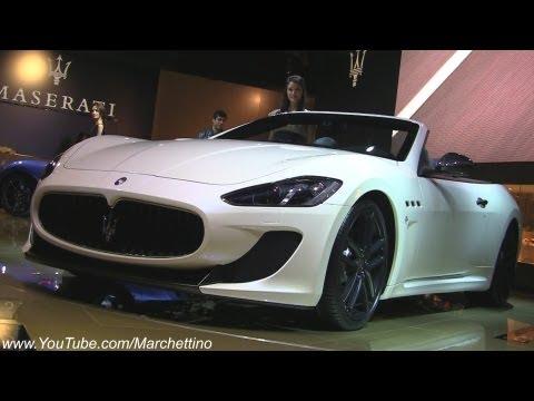 2013 Maserati GranCabrio MC Stradale - 2012 Paris Motor Show