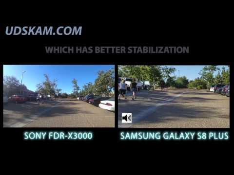 Stabilization Test 2: Sony FDR-x3000 vs Galaxy s8 Plus - Cowles Mountain - Best Stabilization Camera