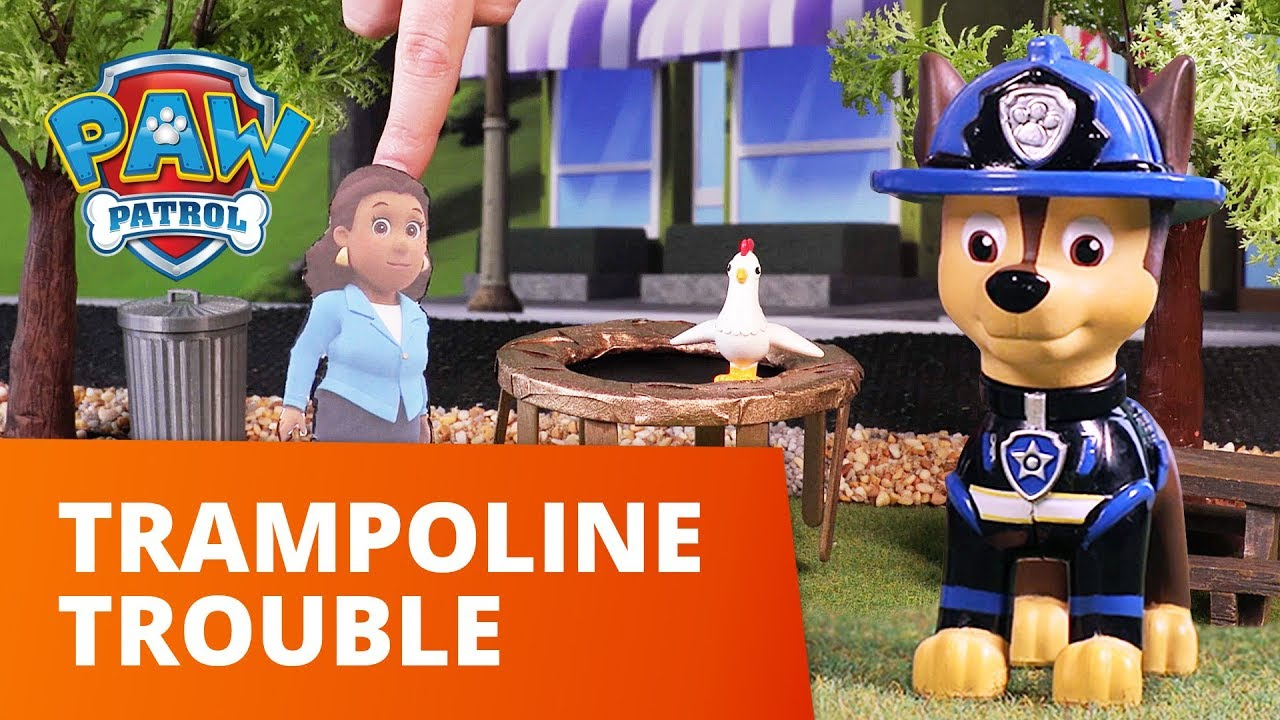 PAW Patrol | Trampoline Trouble | Toy Episode | PAW Patrol Official & Friends