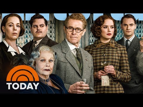 'Murder On The Orient Express' Official Trailer (2017) - Johnny Depp, Josh Gad, Daisy Ridley | TODAY