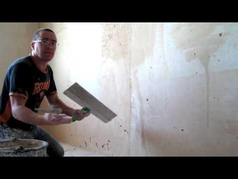 Шпаклевание стен своими руками.  Важность длины Шпателя!! Смотреть Мастер класс.