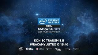 IEM Katowice 2019 CS:GO Major   Dzień 2 - Faza Nowych Mistrzów - Na żywo