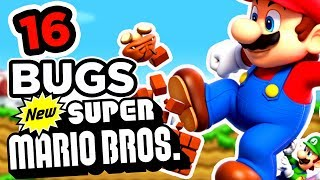 16 BUGS SUR NEW SUPER MARIO BROS [BUG ZONE]