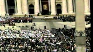 SAINT POPE JOHN PAUL II THE GREAT FUNERAL MASS PART 1 OF 16