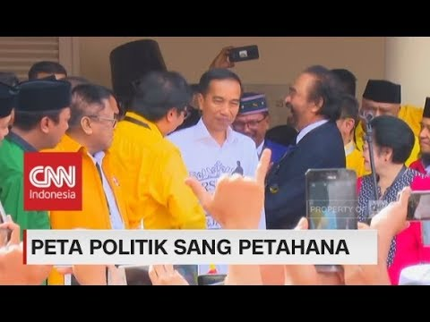 Peta Politik Sang Petahana, Jokowi - Ma'ruf Amin