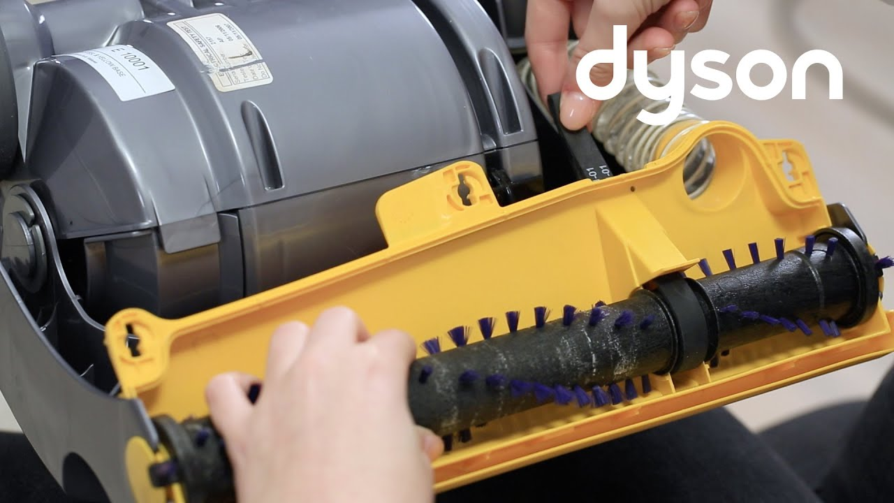 Dyson Dc07 And Dc14 Upright Vacuums Without Brush Control Replacing The Belt Us
