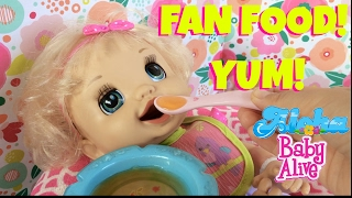 🍊Baby Alive Learns to Potty, Layla is Enjoying Her Special Fan Food! 🍇Feeding, Potty & New Outfit!