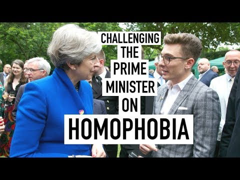 Challenging the Prime Minister on Homophobia