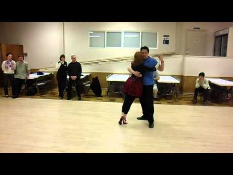 Dancing Tango in Small Spaces, Weeks 2 & 3 Demo; with Grant & K'ai Roberts Fu