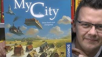 My City (Kosmos) ab 10 (8) Jahre - was für ein grandioses Legacy Familienspiel - spoilerfrei