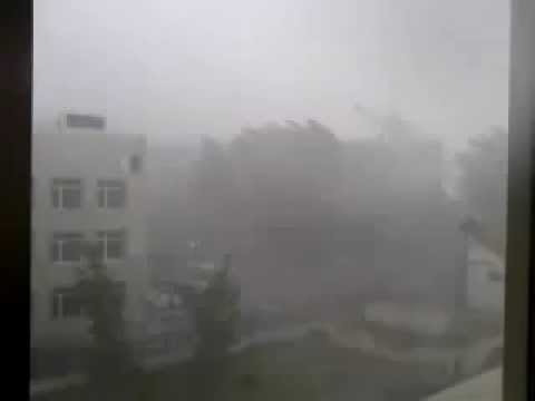 Hurricane in Astana