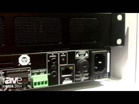 CEDIA 2014: Sonance Highlights New Range of Class D Sonamp Amplifiers