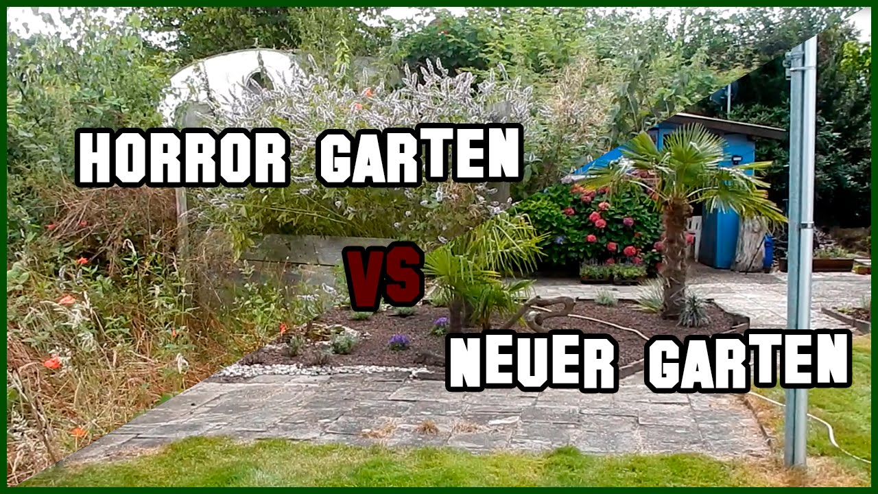 garten vlog 3 alter vs neuer garten youtube. Black Bedroom Furniture Sets. Home Design Ideas