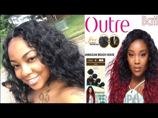 "BOMB WIG SIS! Hair Review For Outre  ""Jamaican Beach Wave """