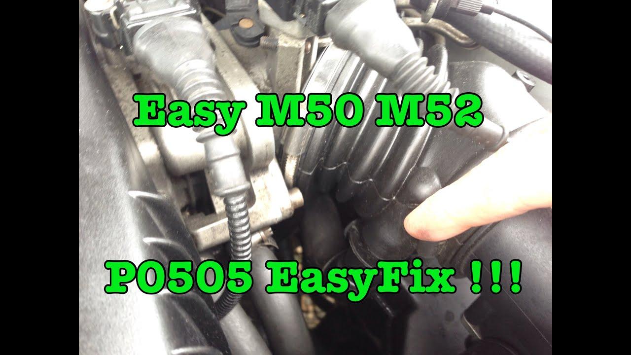 BMW P0505 Idle Control Circuit Fix for M50 M52 E36 E39