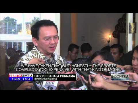 Price Tag on Jakarta Sports Complex Nearly Twice the Need: Basuki