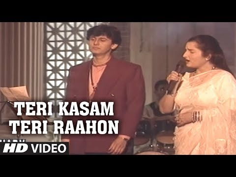 Teri Kasam Teri Raahon Mein Aakar Full Song Sonu Nigam, Anuradha Paudwal | Chahat Album