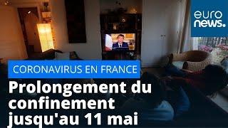 France : prolongement du confinement jusqu'au 11 mai