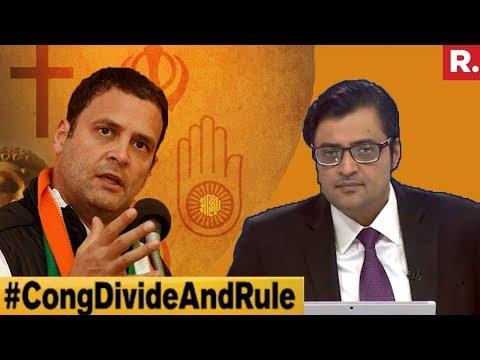 Kodavas After Lingayats? #CongDivideAndRule | The Debate With Arnab Goswami