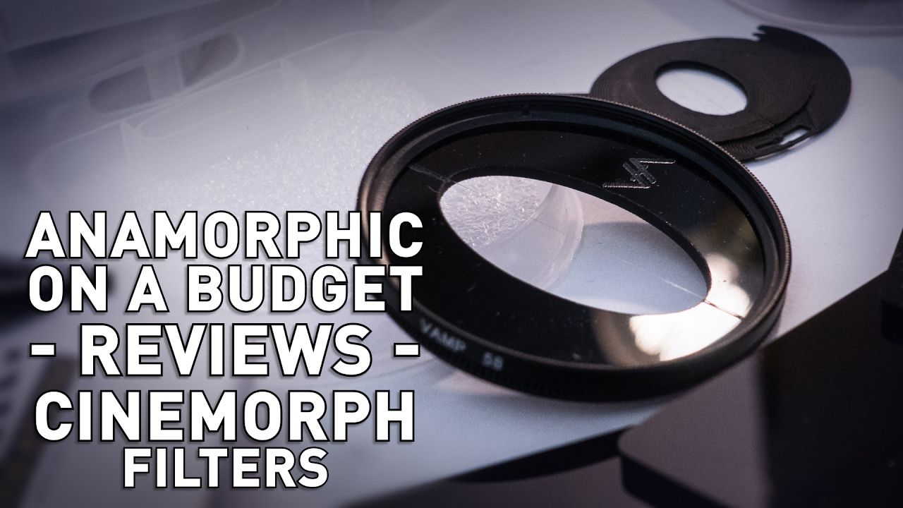 Anamorphic on a Budget – CineMorph Filters – TFerradans