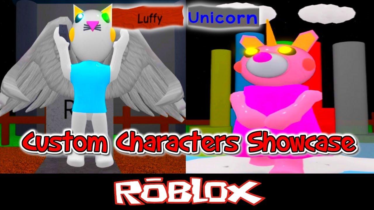 Luffy Unicorn Piggy Custom Characters Showcase By Tenuousflea