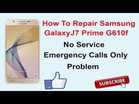 Samsung Galaxy J7 Not Registered On Network Emergency Calls Only Samsung  100 Fix By Geek Mobile