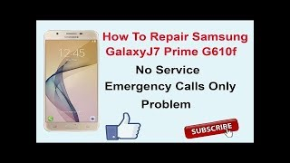 Samsung J710GN Fix Emergency call Solution 100% here videos