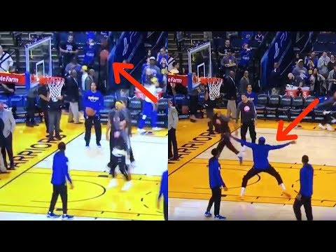 Kevin Durant Does a CRAB DANCE After Steph Curry's Sky High Teardrop Layup