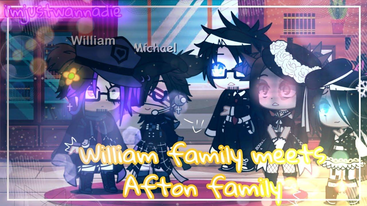 Download William family meets Afton family⚠my au⚠‖Gacha club‖