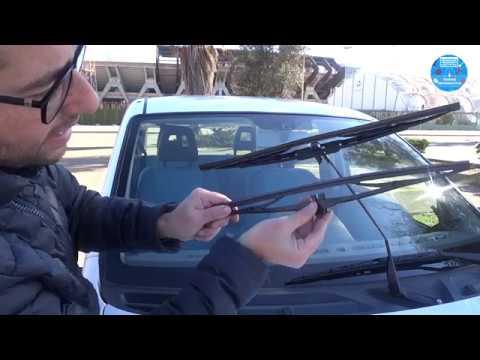 Sostituzione Spazzole Tergicristallo Parabrezza e Lunotto FIAT