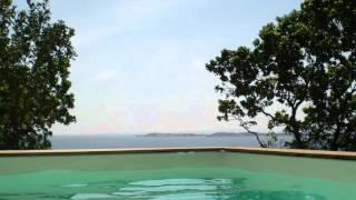 Location villas, vue mer, Bonifacio, Cala Longa, Corse