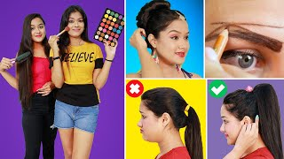 BRILLIANT BEAUTY & HAIR HACKS Every Girl Should Know | Smart Hair & Beauty Hacks For Smart Girls
