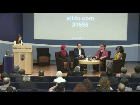 Conversation with Christine Brodie, Sarah Al Qaysi, Judith Bosire, and Travis Chen