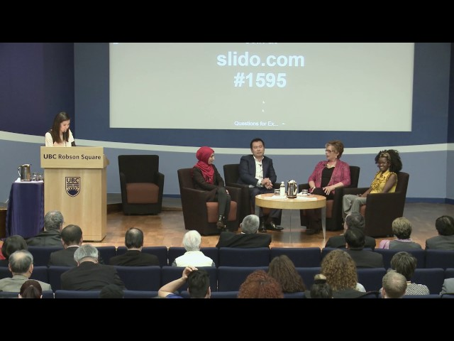 Conversation with Christine Brodie, Sarah Al Qaysi, Judith Bosire, and Travis Chen