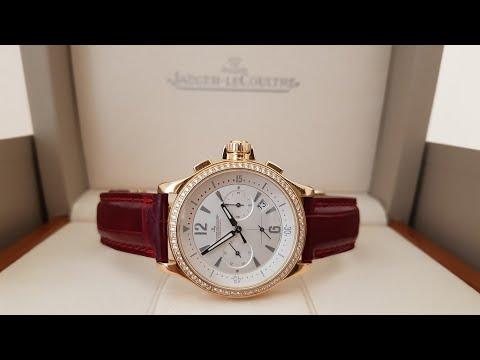 Женские часы Jaeger-LeCoultre розовое золото с бриллиантами!