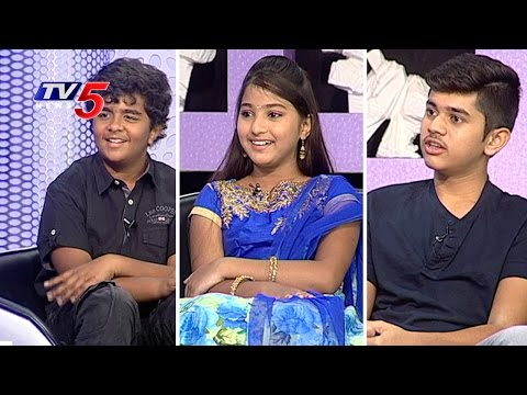 Child Artists Nikhil, Pranavi & Gaurav Chit Chat On Their Movie Journey | TV5 News