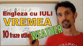 Sa invatam engleza - VREMEA - WEATHER - Let's learn English! (cu traducere in romana)