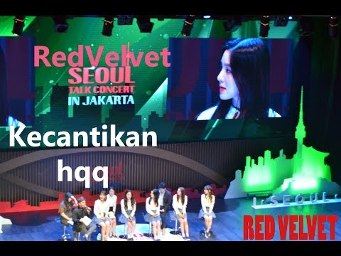 RED VELVET - LIVE CONCERT IN JAKARTA | FULL ( @SEOUL TALK )