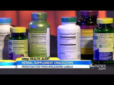 Herbal Multivitamin supplements can be fake