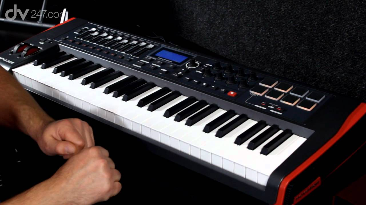 novation impulse midi controller keyboards youtube. Black Bedroom Furniture Sets. Home Design Ideas