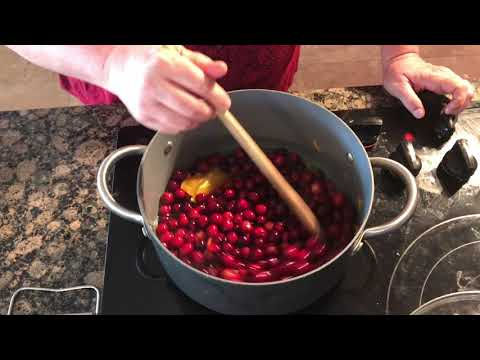HOME FOR THE HOLIDAYS COLLAB: Fresh Whole Cranberry Sauce with Oranges