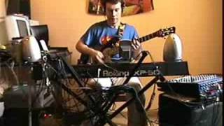 Jam On Voodoo Chile Jimi Hendrix/Mattrach Intro Steackmike One Man Band Version