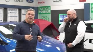 Chevrolet Volt avec M  Daniel Breton et Yannic Asselin