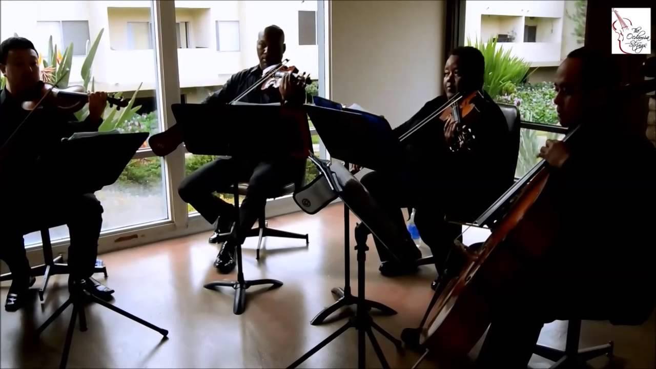Jesu Joy Of Mans Desiring Bach String Quartet By The Ocdamia Strings